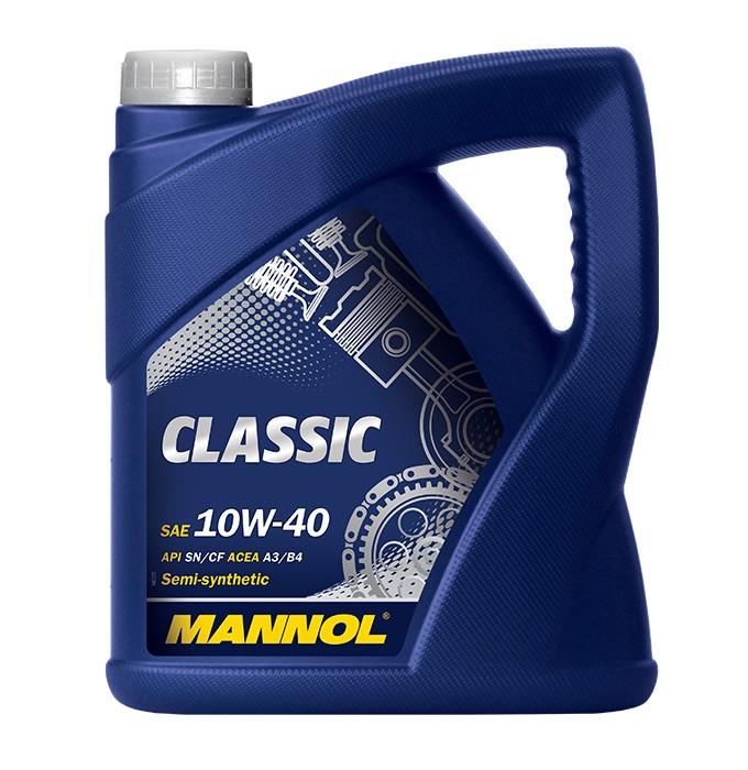 Полу-синтетично моторно масло Mannol Classic 10W-40