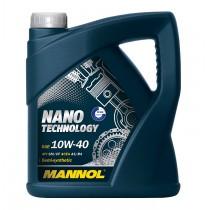 Полу-синтетично моторно масло Mannol Nano Technology 10W40