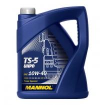 Моторно масло за товарни автомобили Mannol TS-5 UHPD SAE 10W-40 е полусинтетично Ultra High Performance Diesel