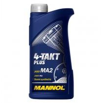 Масло за мотоциклети MANNOL- 4-Tackt Plus за скутери - 1литър