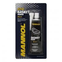 Високо-температурен черен силикон MANNOL 9912 Gasket Maker Black