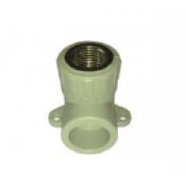 PPR Коляно с уши - F (вътрешна) 1/2 x 20мм